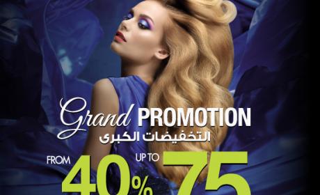40% - 70% Sale at Nazih, December 2016