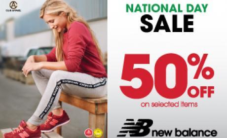 30% - 50% Sale at New Balance, January 2017