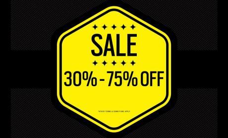 30% - 75% Sale at New Era, July 2017