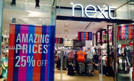 Up to 25% Sale at Next, September 2014