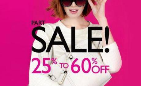 Up to 60% Sale at Nine West, June 2014