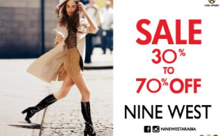 30% - 70% Sale at Nine West, January 2017