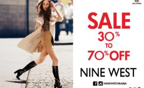 30% - 70% Sale at Nine West, January 2018