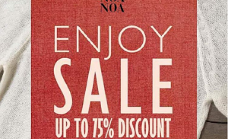 Up to 75% Sale at Noa Noa, July 2016