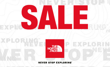 30% - 65% Sale at The North Face, August 2017