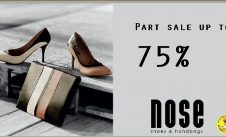 25% - 75% Sale at Nose, February 2016