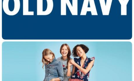 Up to 50% Sale at Old Navy, April 2017