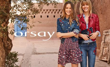 25% - 75% Sale at ORSAY, August 2017