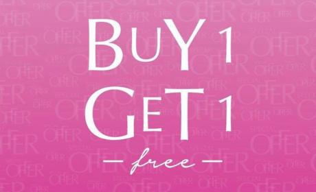 Buy 1 and get 1 Offer at Pandora, July 2017
