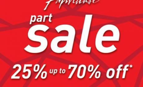 25% - 70% Sale at Paperchase, May 2017