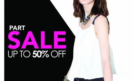 Up to 50% Sale at Parfois, July 2014