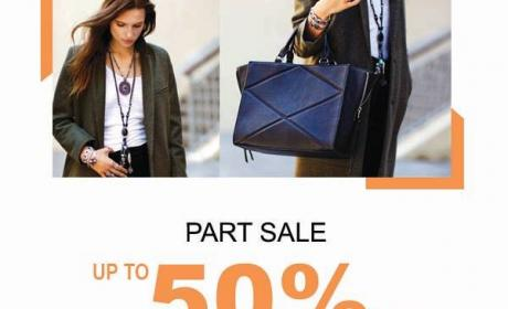 Up to 50% Sale at Parfois, February 2015
