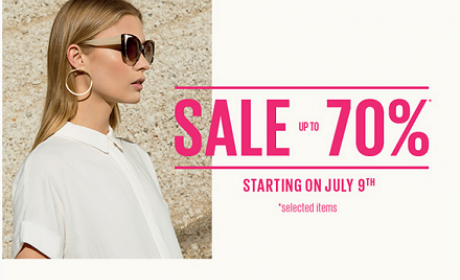Up to 70% Sale at Parfois, August 2016