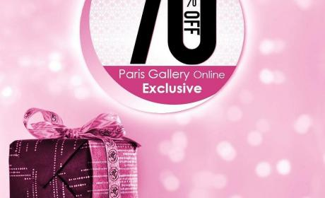 Up to 70% Sale at Paris Gallery, June 2018