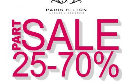 25% - 70% Sale at Paris Hilton, November 2016