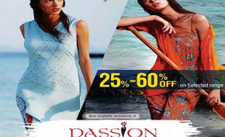 25% - 60% Sale at Passion, August 2016