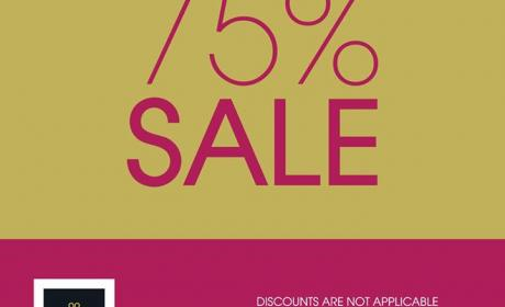 Up to 75% Sale at Patchi, November 2016