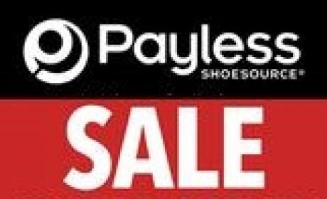 30% - 75% Sale at Payless, August 2017
