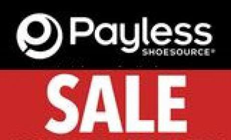 Up to 30% Sale at Payless, May 2018