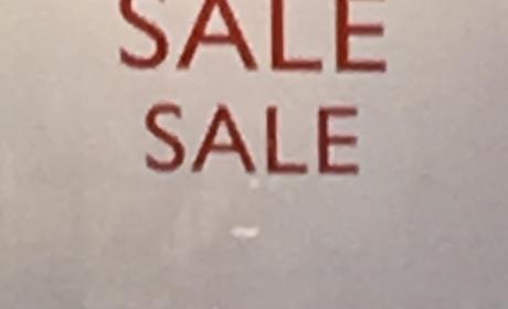 30% - 50% Sale at Pedro, May 2017