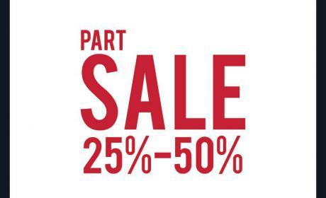 25% - 50% Sale at Pedro, May 2017