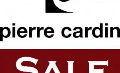 75% - 90% Sale at Pierre Cardin, May 2017