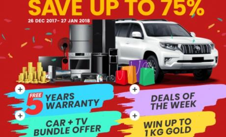 Up to 75% Sale at Plug Ins Electronix, January 2018