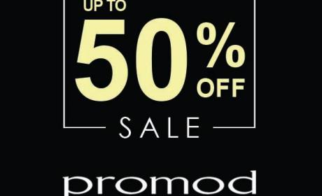 Up to 50% Sale at Promod, August 2017