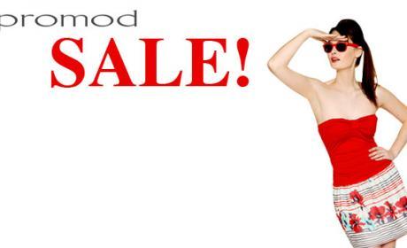 25% - 50% Sale at Promod, October 2017