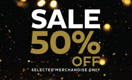 Up to 50% Sale at PURE GOLD JEWELLERS, August 2017