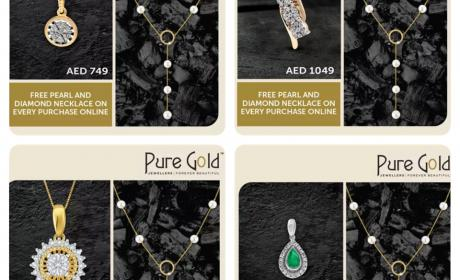Special Offer at PURE GOLD JEWELLERS, October 2017
