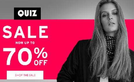 30% - 70% Sale at Quiz, August 2017