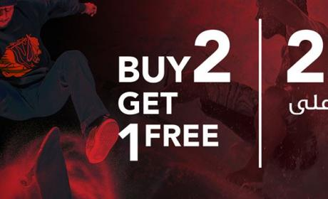 Buy 2 and get 1 Offer at Rage, August 2016