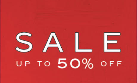 Up to 50% Sale at Reiss, January 2017