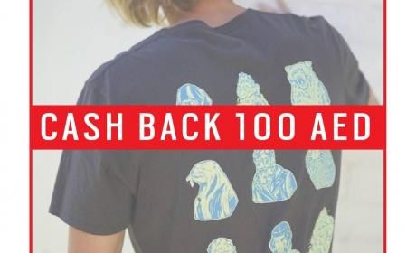 Spend 300 and get AED 100 cash back Offer at Rip Curl, September 2017
