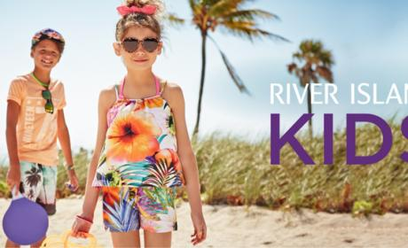 Buy 2 and get 1 Offer at River Island Kids, June 2018
