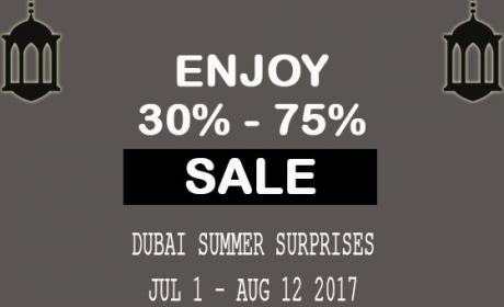 30% - 75% Sale at River Woods, August 2017