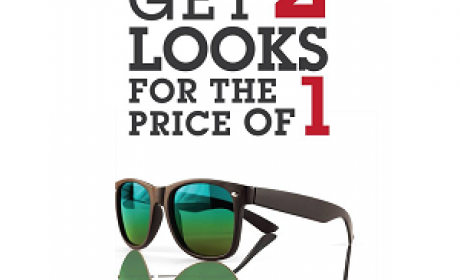Buy 1 and get 1 Offer at Rivoli EyeZone, July 2016