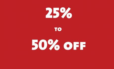 25% - 50% Sale at Rivoli EyeZone, September 2014