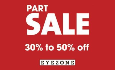 30% - 50% Sale at Rivoli EyeZone, April 2018