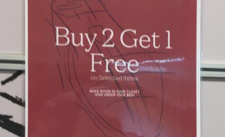 Buy 2 and get 1 Offer at Rockport, June 2017