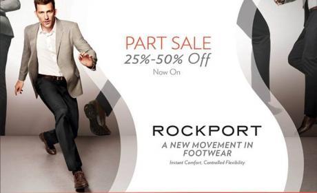 25% - 50% Sale at Rockport, July 2014