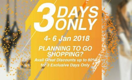 Special Offer at Sahara Centre, January 2018