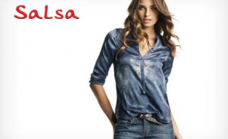 30% - 50% Sale at Salsa Jeans, August 2017