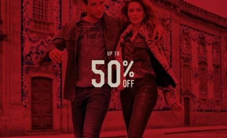 Up to 50% Sale at Salsa Jeans, January 2018