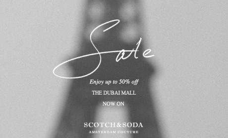 Up to 50% Sale at Scotch & Soda, August 2014
