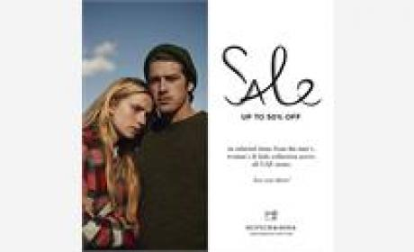 Up to 50% Sale at Scotch & Soda, December 2015