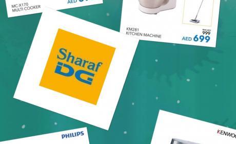 Up to 50% Sale at Sharaf DG, October 2017