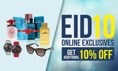 Up to 10% Sale at Sharaf DG, August 2018