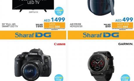 Special Offer at Sharaf DG, July 2017